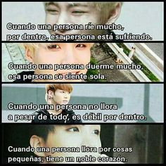 Read 13 from the story frases /BTS/ by (La lesbiana hetero sisi) with 232 reads. Bts Taehyung, Bts Bangtan Boy, Bts Jungkook, Frases Bts, Bts Love Yourself, Bts Quotes, Bts Chibi, Fake Love, Bts Lockscreen