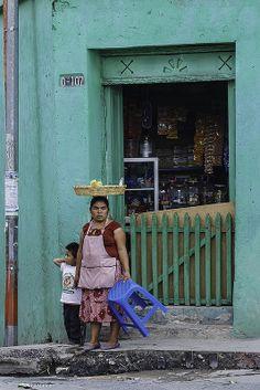 Vendor near Parque C