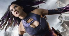 Olivia Munn Shows Off Psylocke's Backside in 'X-Men: Apocalypse' Photo -- 'X-Men: Apocalypse' star Olivia Munn drops her good side in the latest behind-the-scenes photo from the set. -- http://movieweb.com/x-men-apocalypse-psylocke-olivia-munn-ass-photo/