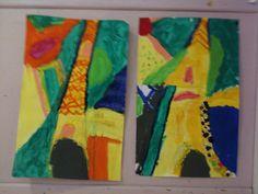 Tour Eiffel a la peinture