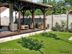 Angolkert.hu, kertépítés, kerttervezés - szép kert referenciák, kerti növénycsoportok, vidéki és városi kertek, képek, fotók Pergola, Gazebo, Budapest, Beautiful Gardens, Sidewalk, Outdoor Structures, Patio, House Styles, Outdoor Decor