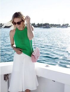 Lilly Pulitzer Gemma Sweater Halter Top worn by @damselindior