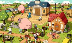 Animal Crossing Wild World, Animal Crossing Fan Art, Animal Crossing Memes, Animal Crossing Villagers, Rainbow Painting, Cute Characters, New Leaf, Cute Drawings, Cute Art
