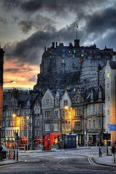 Edinburgh, Scotland @ Dusk