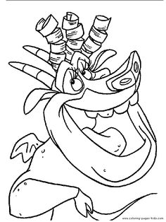 The Hunchback of Notre Dame color page, disney coloring pages, color plate, coloring sheet,printable coloring picture
