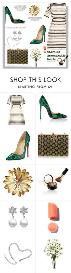 """""""Mudando de Ares"""" by railda-pereira ❤ liked on Polyvore featuring Goat, Christian Louboutin, Wilbur & Gussie, Lauren Conrad, Whiteley, Elizabeth Arden and H&M"""