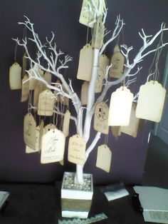 Guest book / wishing tree