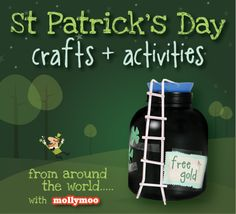 St Patrick's Day Craft & Activity Linkup goes live tomorrow morning at 8amGMT. I really hope that as many mommy bloggers and crafters as possible can participate :)) .... the linkup will close on the 28th. Many thanks Michelle xx ..... http://mollymoo.ie/2013/02/st-patricks-day-kids-craft-roundup/