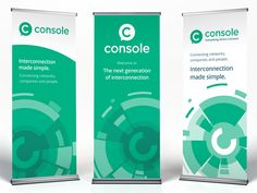 Console roll-up banners designed by Paul Hatch for Console Connect by PCCW Global. Connect with them on Dribbble; the global community for designers and creative professionals. Rollup Banner Design, Bunting Design, Standing Banner Design, Pop Up Banner, Car Banner, Trade Show Booth Design, Display Design, Standee Design, Roll Up Design