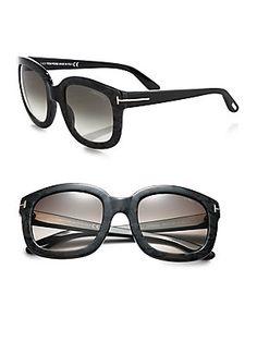 Tom Ford Eyewear Christophe Oversized Square Sunglasses  RonitStylist