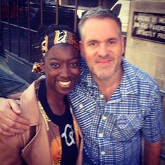 Beginning of summer 2012, early June; Nana and I were on a hunt to find Usher but we bumped into Chris Moyles instead!
