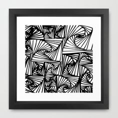 Opti Framed Art Print