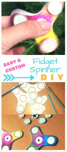Customize your own fidget spinner with this easy DIY tutorial from NuFun Activities! By using Shrink with Ink, you can design your own plastic fidget spinner instead of just using cardboard or paper. Give it a try!