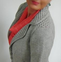 Best 12 The Masterpiece is a smart cardigan to replace a jacket – at work or travelling – you will be well-dressed but still comfortable. Crochet Cardigan Pattern, Knit Cardigan, Knit Crochet, Knitting Stitches, Knitting Patterns, Jacket Pattern, Knit Jacket, Knitted Blankets, Cardigans For Women
