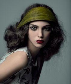 1920's makeup Anisia Photographer: Andrey Yakovlev Art director: Lili Aleeva Model: Anisia (ABA models) MUAH: Lili Aleeva Style: Leila Erdman