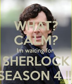 Our time of waiting is almost over... just a few more days.. and then we will have Season 4. #Sherlock #sherlockseason4