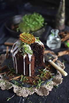 Mexican chocolate cake with tequila & lime | heneedsfood.com