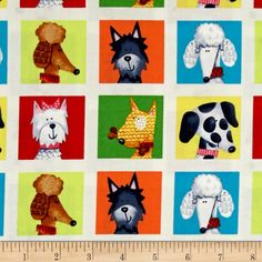Dog's World Patchwork Multi