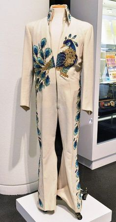 The peacock suit when he was in display in Las Vegas somes years ago.