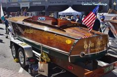 Beautiful Wooden Boat South Carolina