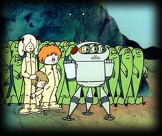 MicRoby was a hungarian sci-fi cartoon-one of the bests!
