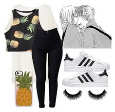 """""""{•pineapples•}"""" by itsgracie18 ❤ liked on Polyvore featuring Ille De Cocos and Casetify"""