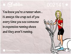 I cringe when I see people using them as everyday shoes – Famous Last Words Running Club, Running Humor, Keep Running, Running Quotes, Girl Running, Running Motivation, Running Workouts, Fitness Motivation, Running Inspiration