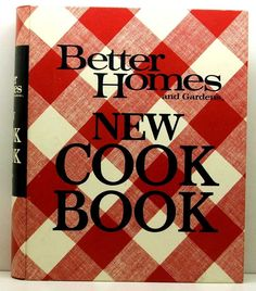 Better Homes And Gardens New Cookbook 1972 HC/SB By ClassicOldCookbooks On  Etsy