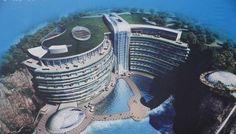 採石場跡地に「世界一低いホテル」、16年開業へ―中国上海|中国情報の日本語メディア―XINHUA.JP - 中国の経済情報を中心としたニュースサイト。分析レポートや特集、調査、インタビュー記事なども豊富に配信。