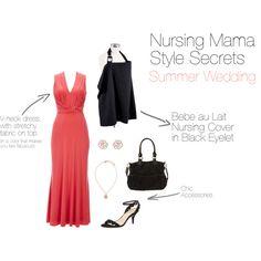 Nursing Mama Style Secrets: Summer Wedding Nursing Cover by Bebe au Lait