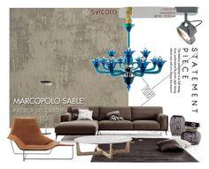 """living sample 2"" by kalujak on Polyvore featuring interior, interiors, interior design, дом, home decor, interior decorating и Zanotta"