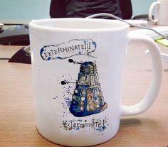 exterminate doctor who One Size Ceramic 11oz sizes