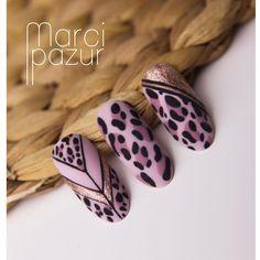 Nail Art Orange, Zebra Nail Art, Animal Nail Art, Leopard Nails, Gel Nail Art, Acrylic Nails, Happy Nails, Gelish Nails, Nail Candy