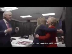 Leaked Video Shows Hillary Celebrating Election Night! - YouTube