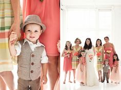 vintage ring bearer outfit, love this little guy!