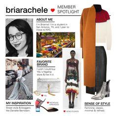 """Member Spotlight: Briarachele"" by polyvore ❤ liked on Polyvore featuring Yves Saint Laurent, Topshop, Chloé, Kendall + Kylie, Warehouse, Nicholas Kirkwood, Acne Studios and MemberSpotlight"