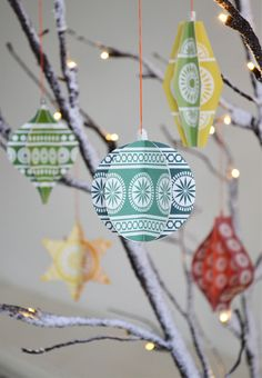 DIY decorations by Madeleine Rogers for Mibo