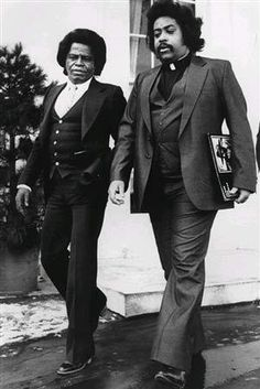 James Brown & Al Sharpton, 1982