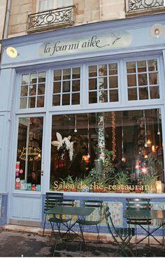 Paris La Fourmi ailé,  salon de thé, restaurant