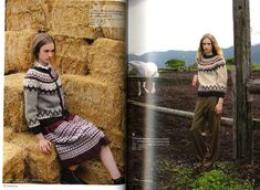 Iceland Lopi sweater: like the color combinations