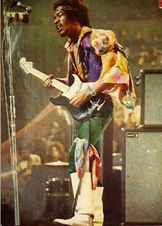 Jimi died when I was only a year old. I feel like I missed out.
