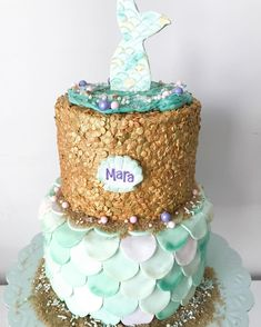 If You're Obsessed With Mermaids, You Need This Mermaid Cake