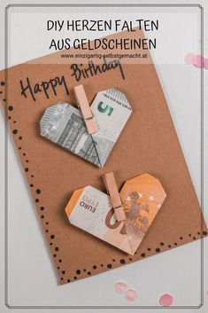 Diy Birthday, Birthday Gifts, The Thing Is, Yellow Roses, Label Design, Decoration, Cards, Money Origami, Ideas