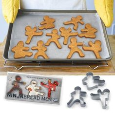 €14.90 Fred & Friend NinjaBread Men piparimuotit