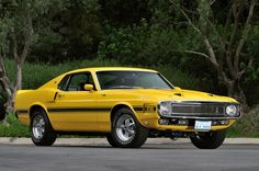 1969 Ford Mustang Shelby GT500 Owned by Carroll Shelby
