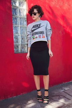 Sports luxe fashion