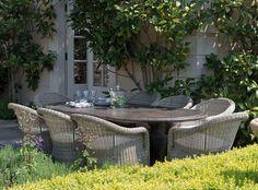 Pasaro garden chairs from neptune.com