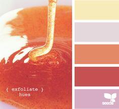 exfoliate hues