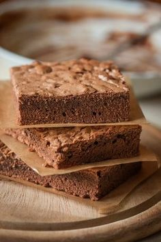 Make Brownies from Scratch - It's so easy and they are so much better!.