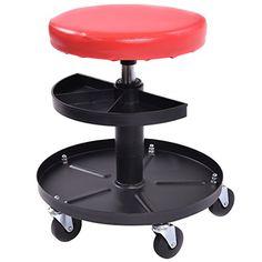 Goplus® Adjustable Mechanics Rolling Creeper Seat Stool Pneumatic Chair Tray Padded Repair Shop Garage w/ 300 lbs Capacity - http://www.caraccessoriesonlinemarket.com/goplus-adjustable-mechanics-rolling-creeper-seat-stool-pneumatic-chair-tray-padded-repair-shop-garage-w-300-lbs-capacity/ #Adjustable, #Capacity, #Chair, #Creeper, #Garage, #Goplus, #Mechanics, #Padded, #Pneumatic, #Repair, #Rolling, #Seat, #Shop, #Stool, #Tray #Garage-Shop, #Tools-Equipment